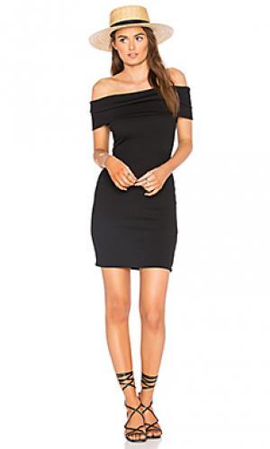 Платье franca SIR the label. Цвет: черный
