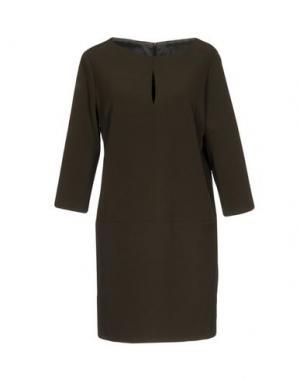 Короткое платье TWENTY EASY by KAOS. Цвет: зеленый-милитари