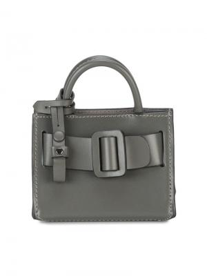 Мини сумка-брелок Bobby Boyy. Цвет: серый