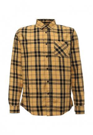Рубашка Modis. Цвет: желтый