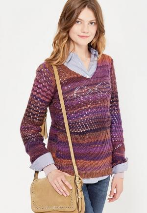 Пуловер Rifle. Цвет: фиолетовый