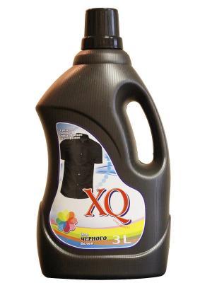 Средство моющее синтетическое гелеобразное для черного белья, 3 л XQ. Цвет: прозрачный