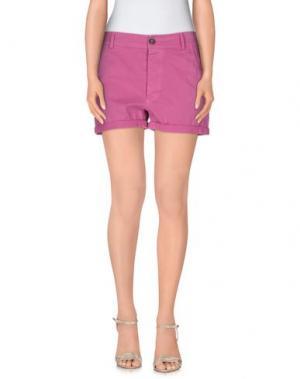 Повседневные шорты GUARDAROBA by ANIYE. Цвет: светло-фиолетовый