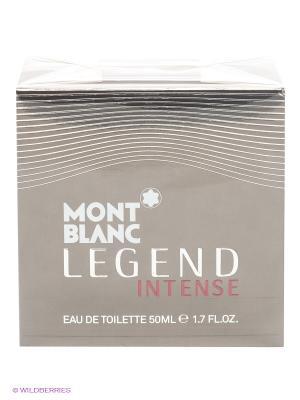 Туалетная вода, LEGEND INTENSE FOR MEN, 50 мл Montblanc. Цвет: черный