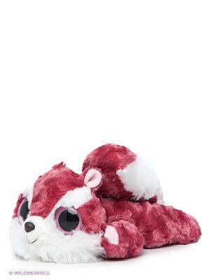 Мягкая игрушка Aurora. Цвет: белый, фуксия