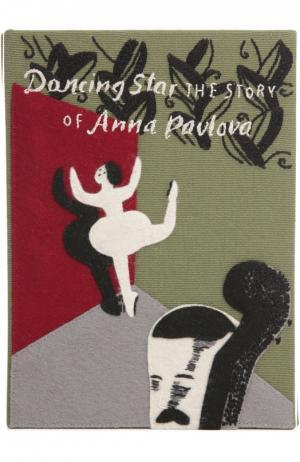 Клатч в виде книги с аппликацией Olympia Le-Tan. Цвет: хаки