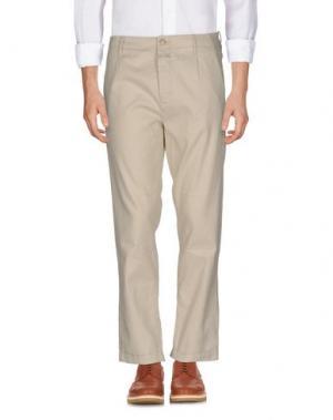 Повседневные брюки CLOSED. Цвет: слоновая кость