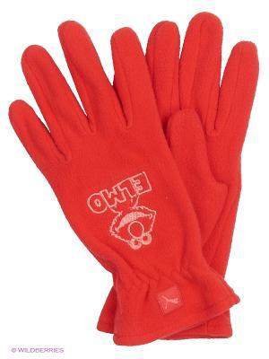 Перчатки Sesame Street Gloves Puma. Цвет: красный