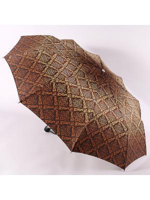Зонт Zest. Цвет: золотистый, коричневый