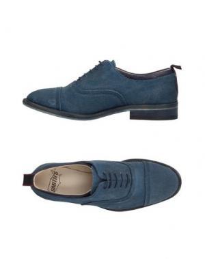 Обувь на шнурках SMITH'S AMERICAN. Цвет: темно-синий