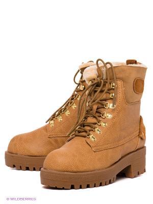 Ботинки Yaro. Цвет: светло-коричневый