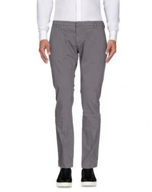 Повседневные брюки MICHAEL COAL. Цвет: серый