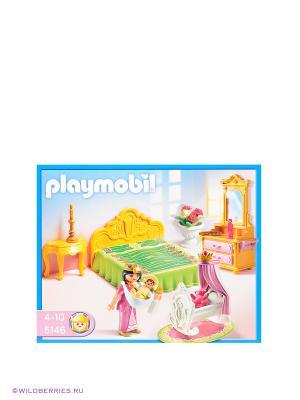 Королевская спальня Playmobil. Цвет: голубой, розовый