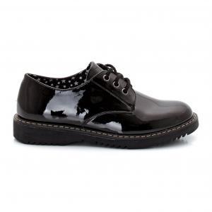 Ботинки-дерби лакированные R édition. Цвет: черный лак