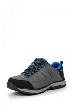 Ботинки трекинговые Icepeak. Цвет: серый