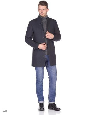 Пальто Donatto. Цвет: серый