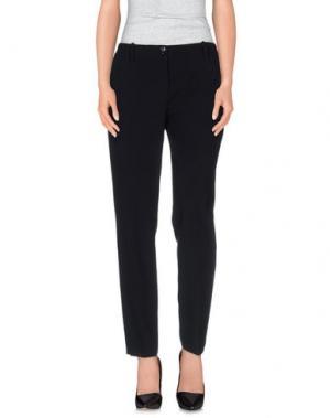 Повседневные брюки DANPOL Torino. Цвет: черный