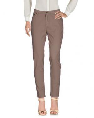 Повседневные брюки TAVIANI. Цвет: хаки