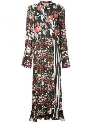 Платье Oleta Mother Of Pearl. Цвет: чёрный
