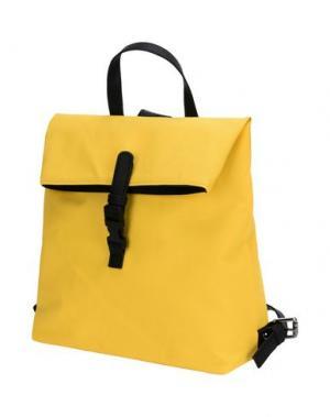 Рюкзаки и сумки на пояс BORSETTERIA Napoli 1985. Цвет: желтый