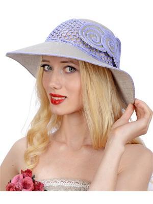 Шляпа Сиринга. Цвет: серый, фиолетовый