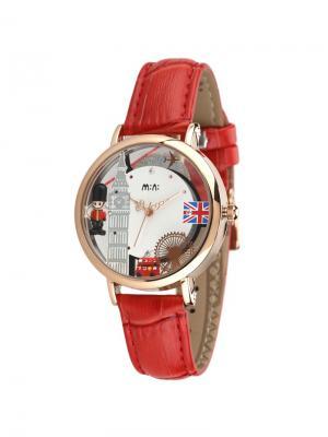 Наручные часы MN2059red Mini.. Цвет: красный, золотистый