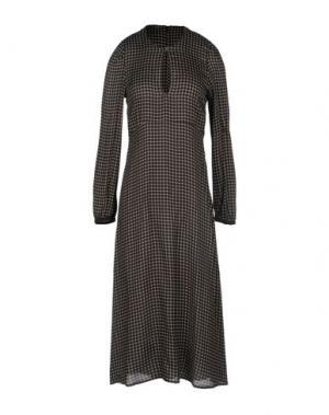 Платье длиной 3/4 ..,MERCI. Цвет: черный