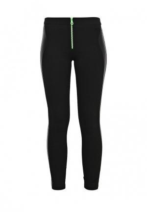 Леггинсы Versace Jeans. Цвет: черный