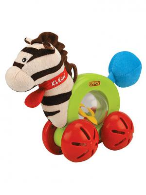 Развивающая игрушка K'S Kids. Цвет: синий (осн.), бежевый (осн.), красный (осн.)