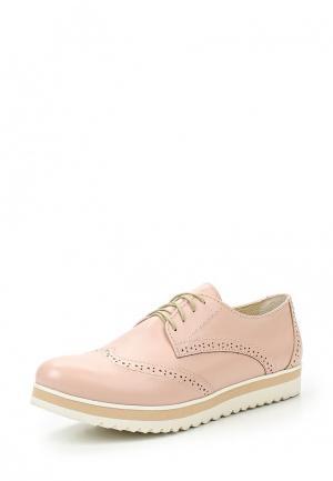 Ботинки Laura Valorosa. Цвет: розовый