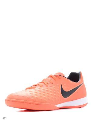 Кеды для зала MAGISTAX ONDA II IC Nike. Цвет: оранжевый