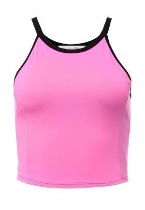 Топ спортивный Twin-Set Simona Barbieri. Цвет: розовый