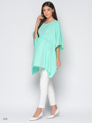 Туника Trendy Tummy. Цвет: светло-зеленый