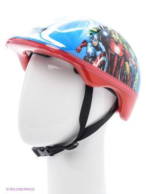 Шлем Marvel Мстители. Цвет: красный, синий