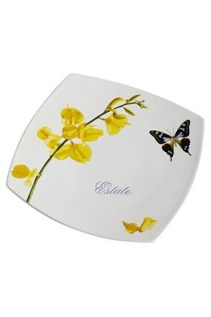 Тарелка обеденная Ceramiche Viva. Цвет: мультиколор