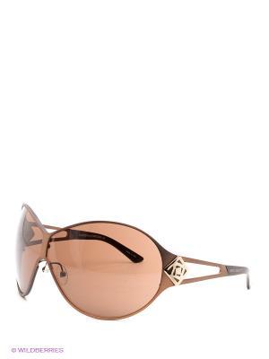 Солнцезащитные очки IS 11-06608 Enni Marco. Цвет: коричневый