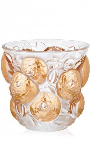 Ваза Oran Lalique. Цвет: золотой