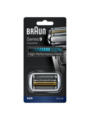Braun Сетка + режущий блок 92S Series9 (10/320/3840). Цвет: черный