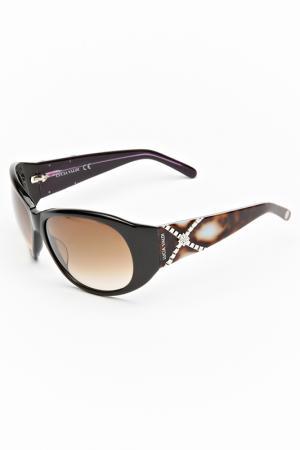 Очки солнцезащитные Lucia Valdi. Цвет: черный