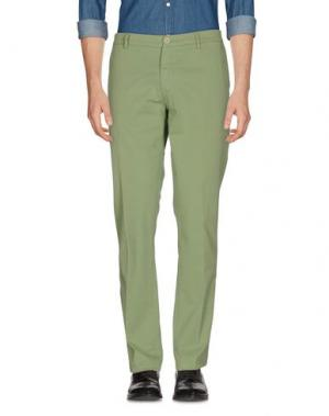 Повседневные брюки BARBATI. Цвет: светло-зеленый