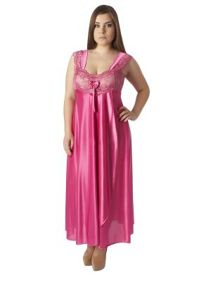Сорочка ночная Belweiss. Цвет: лиловый