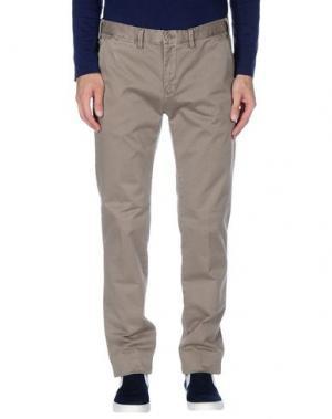 Повседневные брюки ERIC HATTON. Цвет: голубиный серый
