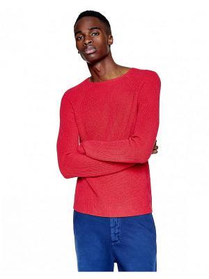 СВИТЕР United Colors of Benetton. Цвет: красный, розовый
