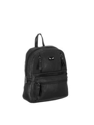 Рюкзак 5655 искусственная кожа Sofiya. Цвет: черный