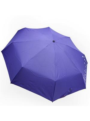 Зонт Edmins. Цвет: сиреневый, белый