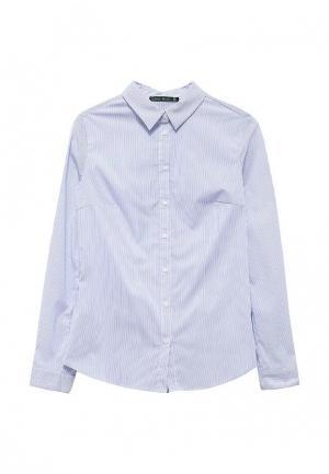 Рубашка Befree. Цвет: голубой