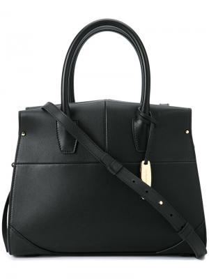 Классическая сумка-тоут Narciso Rodriguez. Цвет: чёрный
