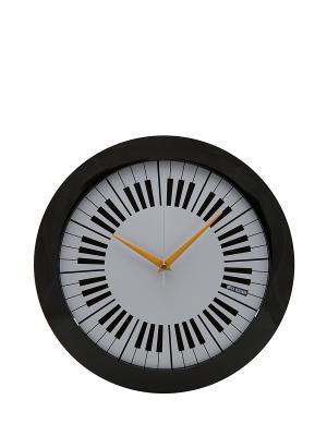 Часы настенные Mitya Veselkov. Цвет: черный