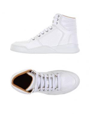 Высокие кеды и кроссовки MARC JACOBS. Цвет: белый