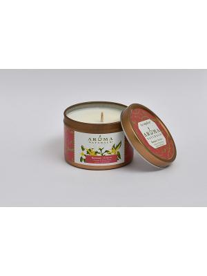 Соевые свечи Романтика, 80 гр Aroma Naturals. Цвет: белый
